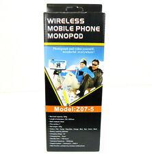 JStar Wireless Mobile Phone MonoPod Telescopic Selfie Stick Z07-5 - Black