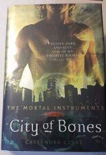Cassandra Clare City of Bones The Mortal Instruments Book 1  HC 1st/1st Signed