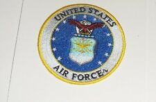 UNITED STATES AIR FORCE Embroidered iron-on Patch New 2 7/8""