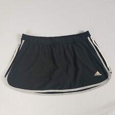 Adidas Womens Skort Size M Black  Activewear Marathon 10 Athletic