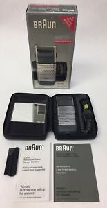 (New) Vintage Braun System 1 2 3 Rechargeable Ci 3525 Cordless Shaver TESTED