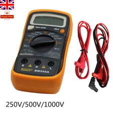 1000V Digital Insulation Resistance Tester Meter Detector Megohmmeter Ohmmeters