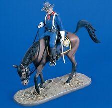 "Verlinden 120mm 1/16 ""Cavalry of the Plains"" US Captain on Horseback w/Base 2086"