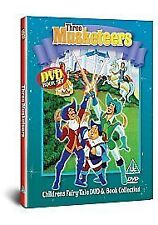 """VERY GOOD"" Three Musketeers (Fairytale Book and DVD), n/a, Book"