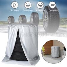 4 X R14 Spare Wheel Cover Tyre Tire Storage Bag Car Van Caravan Motorhome Rw53