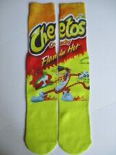 hot cheetos socks BUY any 3 pairs GET 4TH PAIR FREE hip hop pop culture socks