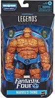 New Marvel Fantastic Four Legends Marvels THING Action Figure - Rare