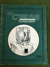Cyber Files - Dr. Who Roleplaying Game RPG - Adventure Module book - FASA 1986