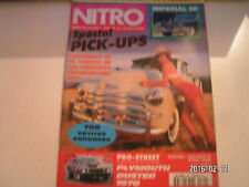 ** Nitro n°162 Cadillac 1942 Pick up / Playmouth Duster 1970 Pro street