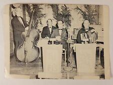 Promotional Big Band Photo Accordionist Dziedzina Joe Kelly & His HI-FI's Phila.