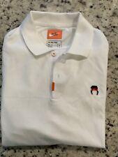 Nike John McEnroe Headband Tennis Polo CZ1763 100 Size Medium White Golf Shirt