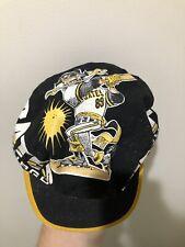 Vintage 80s Pittsburgh Pirates Painters Cap Hat Caricature Barry Bonds Rare