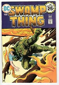 SWAMP THING #14 1975 DC BRONZE AGE HIGH-GRADE FN/VFN!