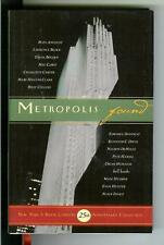 METROPOLIS FOUND, rare NY Book Country 25 Aniversary crime noir hardcover in DJ