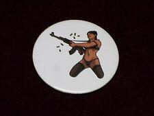 Lana Kane (Archer TV Series) AR-15 Assault Rifle Metal Pinback Pin Badge Button