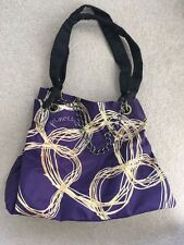 Vera Wang Tote Bag - Purple - Glam Princess With Chain Detail