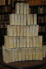 Fleury - Historia ecclesiastica – 93 Bände - 1758-98 Ganzpergament