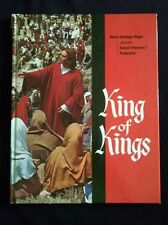 King of Kings Production Book with 4 color 8x10's