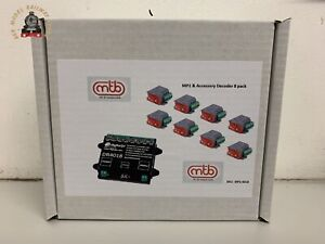 Digikeijs 8 Pack MP1 Point Motors With Digikeijs DR4018 Accessory Decoder