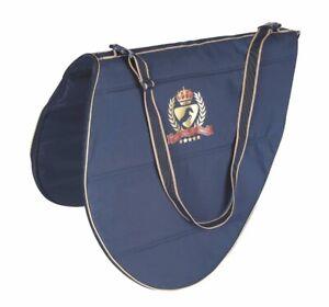 Aubrion Team Saddle Bag - Navy