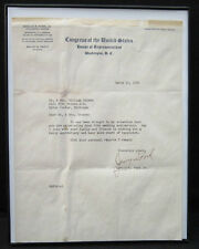 Authentic 1950 Autographed GERALD R FORD Congressional Personally Signed Letter