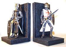 Serre-livres chevaliers  - serre-livres moyen age - Déco médiévale