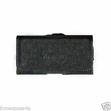 SAMSUNG N7000 NOTE 1 FAUX LEATHER MENS BELT CLIP POUCH CASE FOR MOBILE PHONE