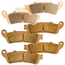 Front Rear Sintered Brake Pads 2001-2011 2010 2009 2008 HONDA GL 1800 A Goldwing