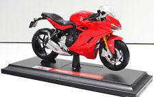 Ducati Supersport S Maisto 1:18 Modelo Motocicleta a Escala Modelo