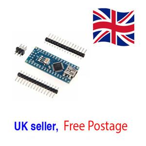 Nano V3.0 MINI USB ATmega328P CH340G 5V 16M Micro-controller board Arduino UK