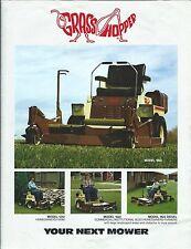 Equipment Brochure - Grasshopper - 1210 et al - Tractor Mowers - c1984 (E2776)
