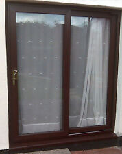 uPVC Patio Doors - Full Mahogany - Sliding Patio Door | 2200mm x 2150mm