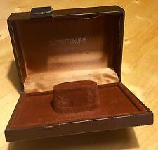 LONGINES Vintage Watch Box 1960's Conquest Master Heritage Evidenza Calatrava