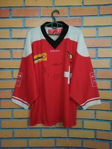Switzerland Swiss Jersey Autograph SMALL Hockey Shirt Ochsner