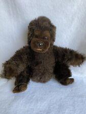 Vintage 1983 Dakin 11� Brown Baby Monkey/Ape/Chimpanzee/Gor illa Plush