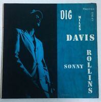 "Miles Davis LP ""Dig""  ~ Prestige 7012 ~ W.50th ~ Deep Groove ~ Sonny Rollins RVG"