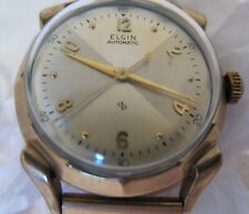 VINTAGE  MENS ELGIN AUTOMATIC WRISTWATCH SELFWIND UNUSUAL FACE