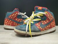 Nike Sb Dunk High Quagmire Sz 11.5 313171-331 *RARE* FAMILY GUY 2009