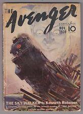 The Avenger Nov 1939 The Skywalker Kenneth Robeson Paul Ernst Norman A Daniels