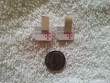 Lot of 3 T-Mobile Micro Sim Card Testing&Bypass Only! Not For Activation! *Read!