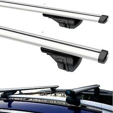 Aluminium Roof Bars Rack clamps 60kg to fit BMW 3 Series Touring E91 2005 - 2013