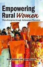 Empowering Rural Women : Micro-Enterprise Through Achievement Motivation by...
