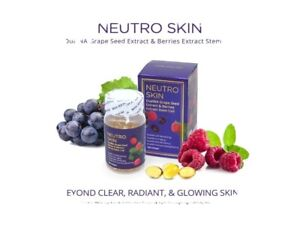 2 Bottles Neutro Skin DualNa Grape Seed and Berries Extract Softgel/Capsule