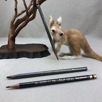 3 Eberhard Faber Blu-Blak Noblot Ink Vintage Pencil 740 Bottle of Ink In Pencil