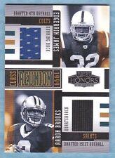 2005 Playoff Honors ~ Edgerrin James ~ Aaron Brooks ~ Class Reunion #'d /150