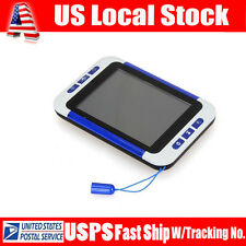 "3.5"" LCD Portable Reading Digital Viewing Video Magnifier Eyesight-Aiding 2x-32x"