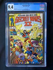 Secret Wars II #9 CGC 9.4 (1986)