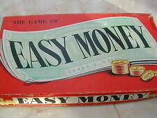 EASY Money Gioco - 1960 - 100% - Chad Valley-Vintage Board Game-soldi facili
