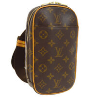 LOUIS VUITTON POCHETTE GANGE CROSS BODY BUM BAG MONOGRAM M51870 CA1004 00382