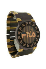 Fila  FA0848-61 Barocco Women's Round Brown Stainless Steel Analog Watch